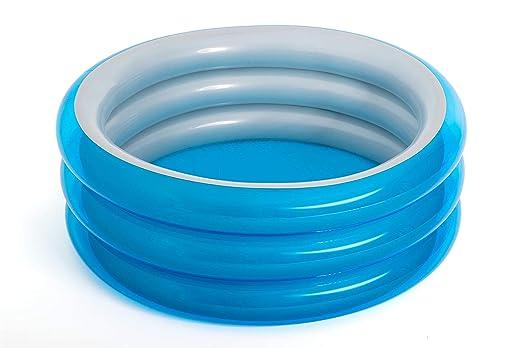 Piscina Hinchable Infantil Bestway Big Metallic 3-Ring Pool 150x53 cm