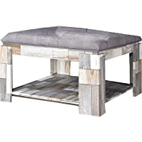 Jiwa Berani Ashton Coffee Table, Grey (Ash-CT-Gry)