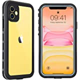 Hertekdo Funda para iPhone 11, IP68 Funda Impermeable para iPhone 11 con Kickstand Absorción de Choque Resistente iPhone…