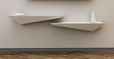Mensole Legno Laccato.Mensola Design Porta Tv A Muro E Parete Legno Laccato