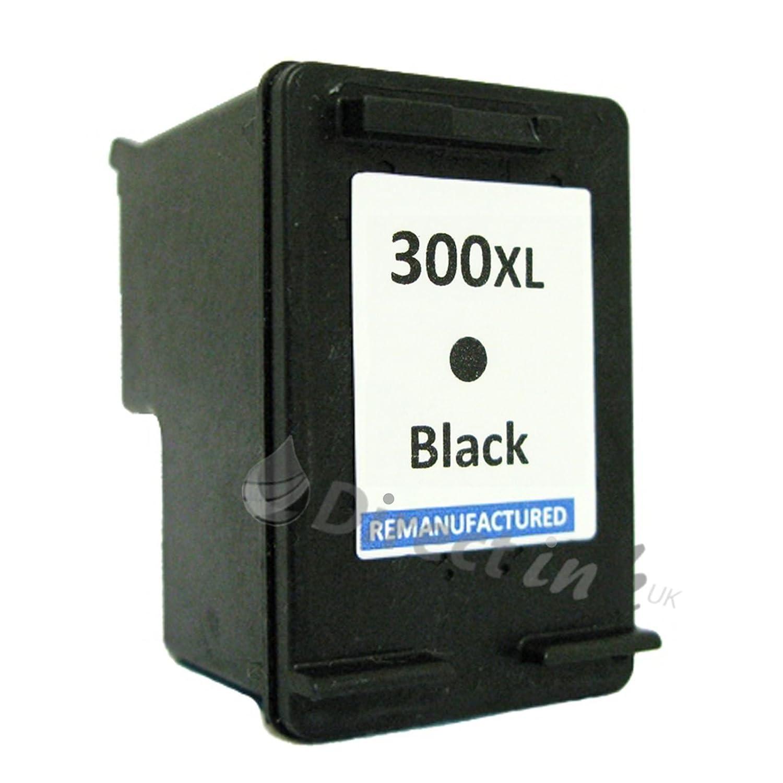 HP 300 X L Black Ink Cartridge Replacement Remanufacturados para ...