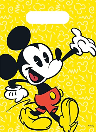 6 Bolsas de fiesta * Mickey Mouse - Super Cool * DE Disney ...