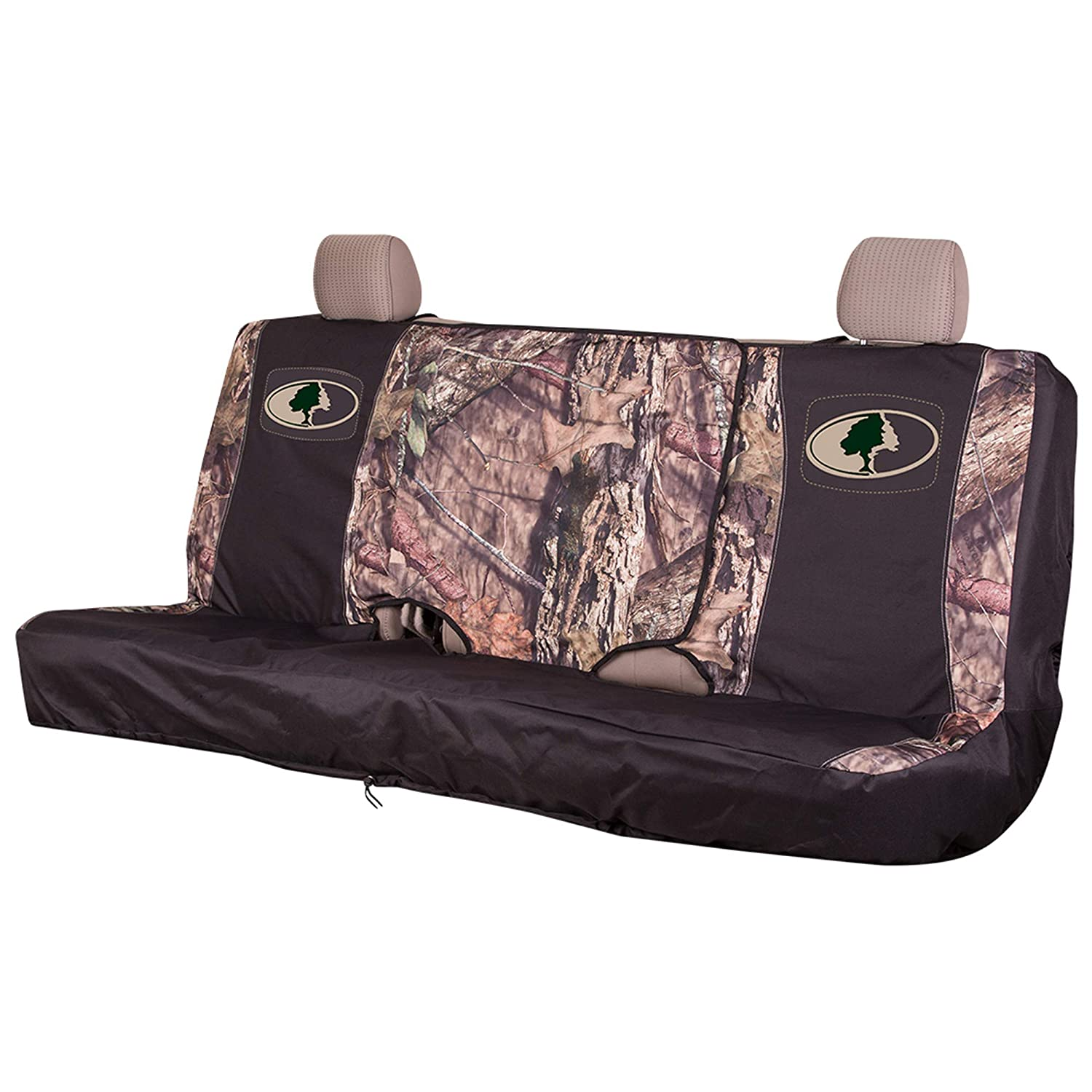 Black//Country Country SPG Mossy Oak Camo Seat Cover Bench Mid Bench MSC5419 Mid Size Signature Products Group