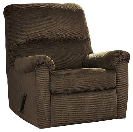 Ashley Furniture Signature Design - Bronwyn Swivel Glider Recliner - Contemporary Reclining Couch - Cocoa Brown  sc 1 st  Amazon.com & Amazon.com: Ashley Furniture Signature Design - Bronwyn Swivel ... islam-shia.org
