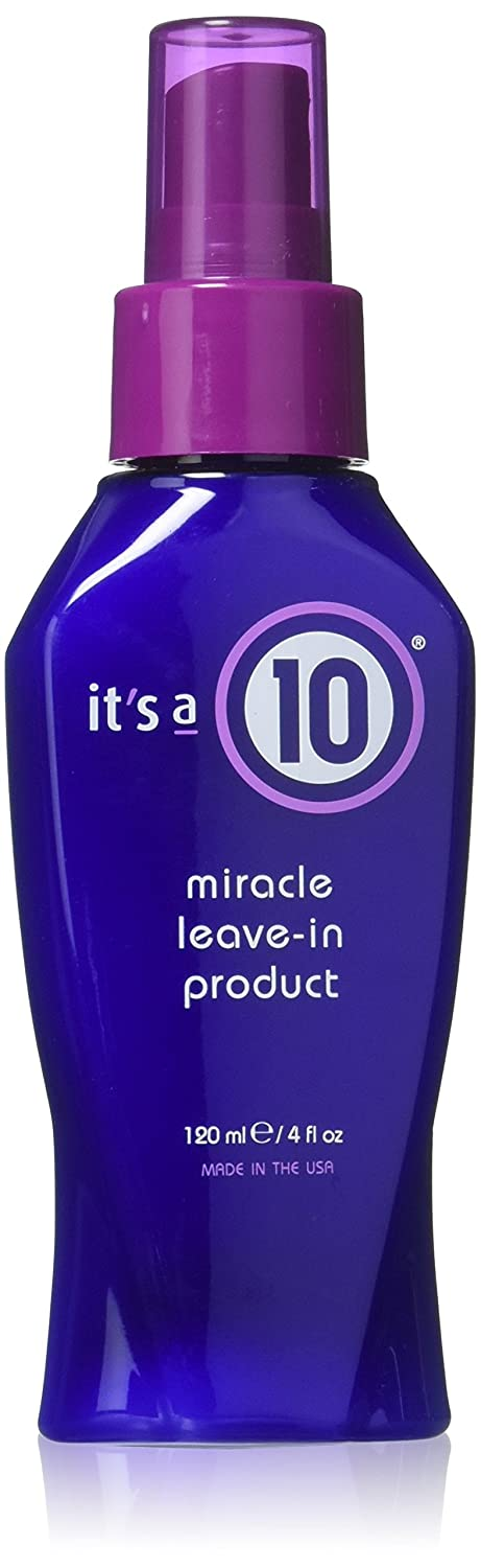It's a 10 Haircare Miracle Leave-In Product, 4 fl. oz