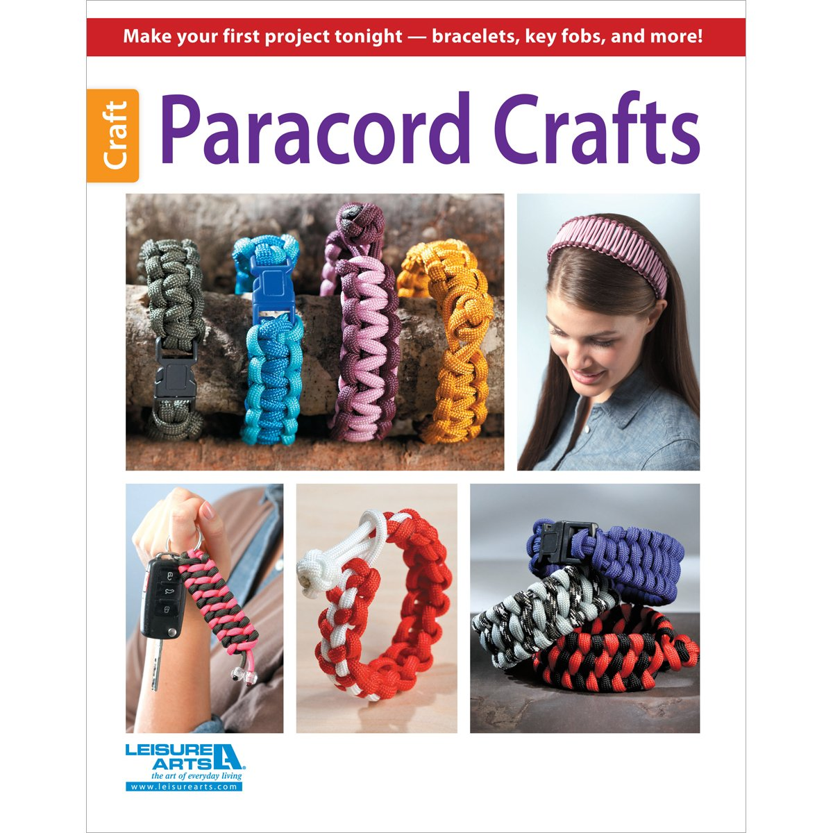 Paracord Crafts: Everybody Wants One - Clear Instructions Make it Easy!