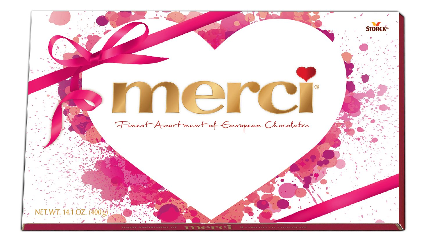 Amazon.com : Merci Assorted Valentine's Day Chocolates, 14.1 Ounce ...