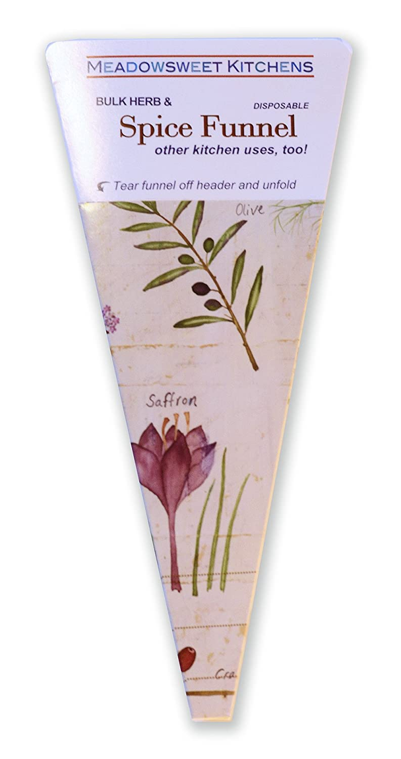 Amazon.com: Meadowsweet Kitchens Herb And Spice Funnel, Beige: Kitchen U0026  Dining