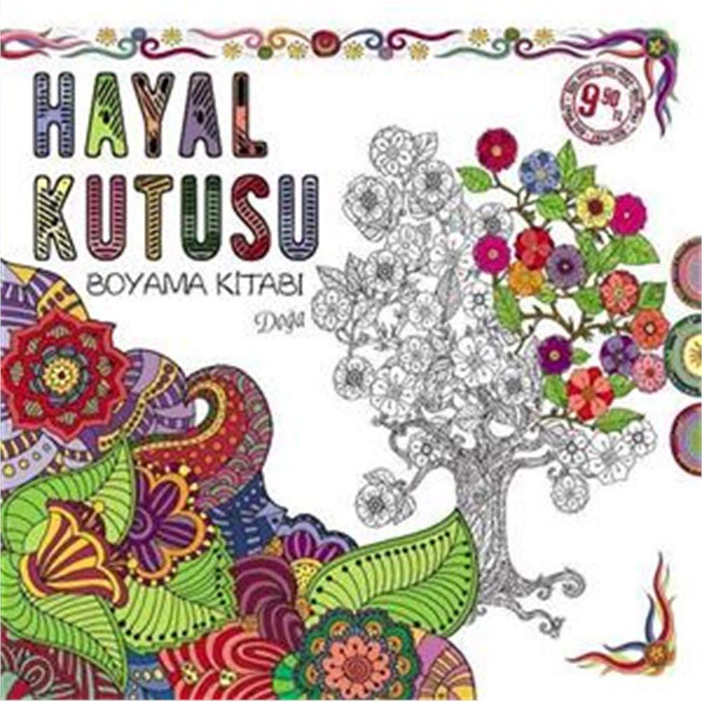 Hayal Kutusu Boyama Kitabi Doga Kolektif 9786059864503 Books