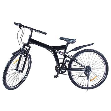 Bicicleta de montaña plegable Succebuy, de aleación de aluminio, con