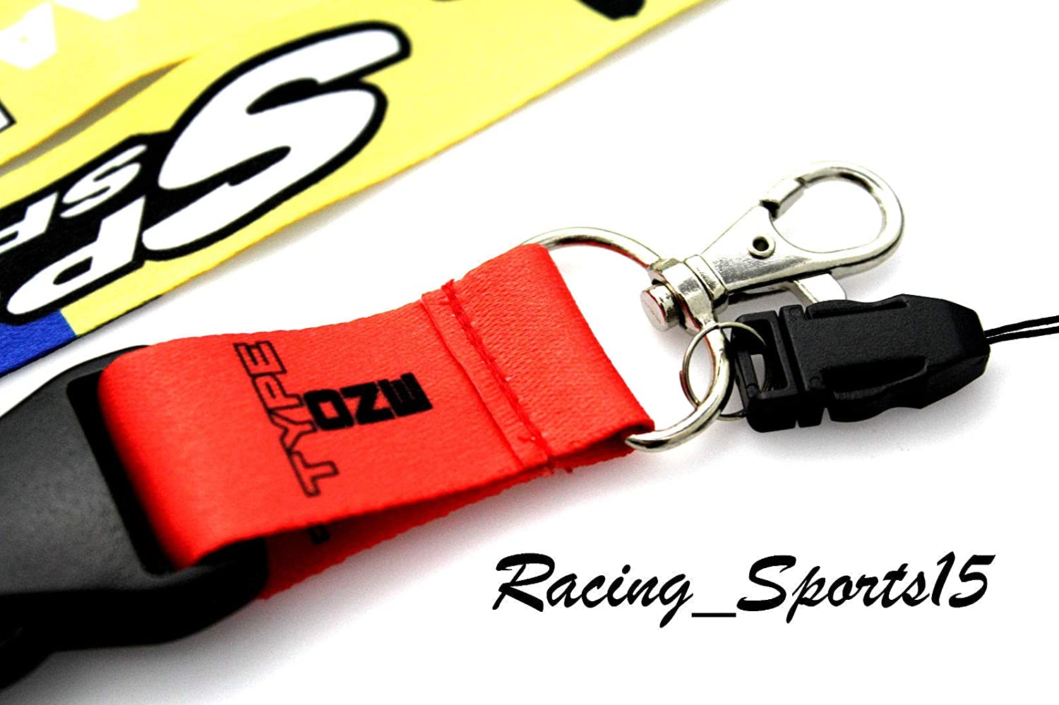 Amazon.com: JDM Spoon Sports Lanyard Keychain Neck Strap ...