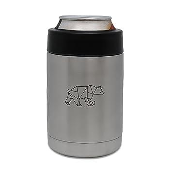 Amazon.de: Geometrische Bär Edelstahl Getränke Cooler, Bier Kühler ...