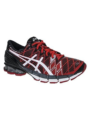 quality design 509c0 5a781 ASICS Gel-Kinsei 5 Running Shoe Red White   Blac