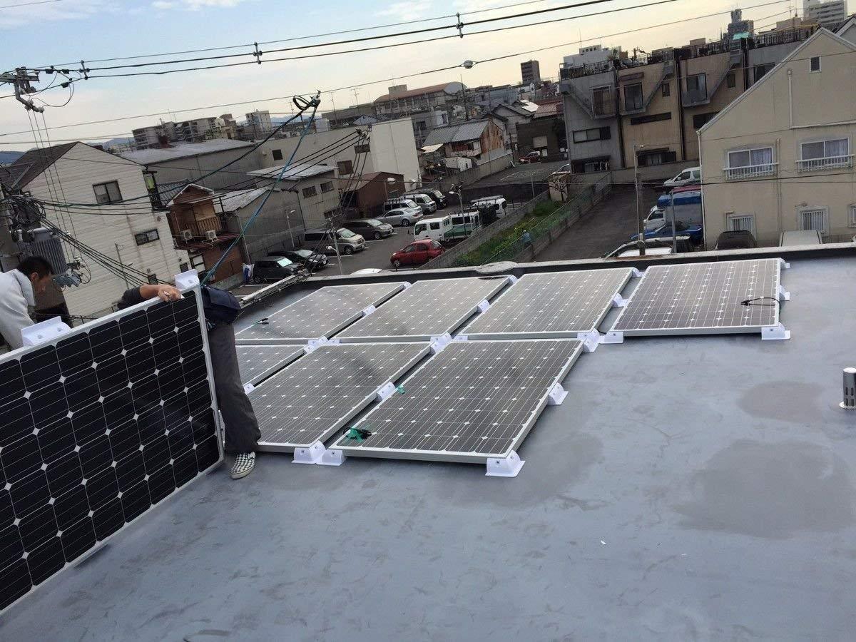 Corner /& Side Bracket ECO-WORTHY Solar Panel Four Corner Bracket and Side Bracket