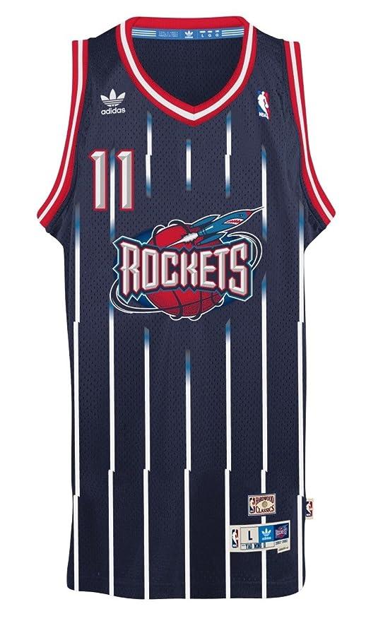 separation shoes 67836 dd7bf Yao Ming Houston Rockets Adidas NBA Throwback Swingman ...