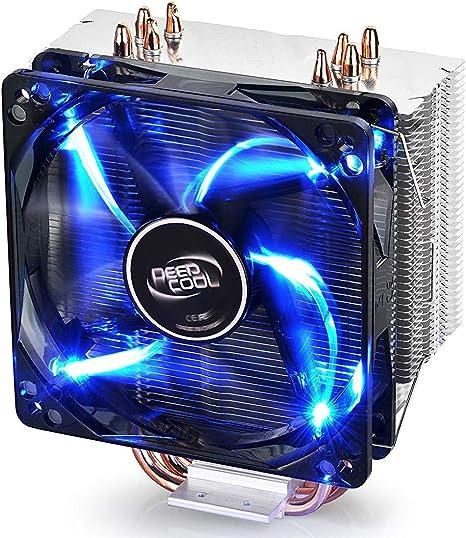 DEEP COOL Gammaxx 400, Disipador de CPU con 4 Tubos de Calor ...