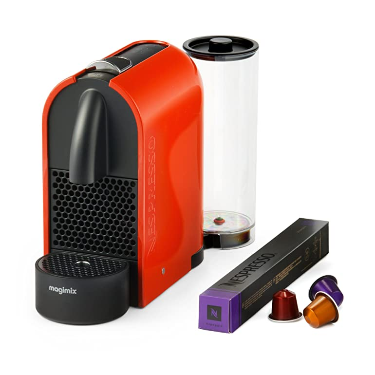 Magimix Nespresso U Coffee Machine - Orange: Amazon.co.uk: Kitchen ...