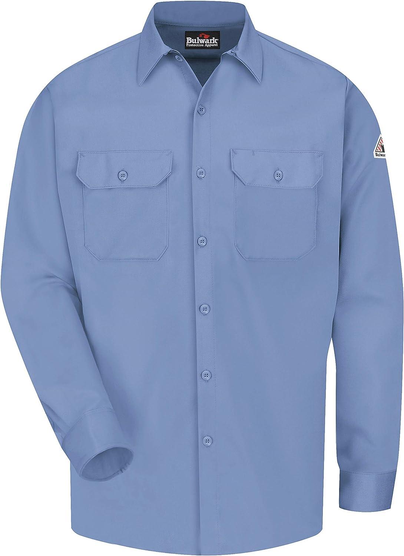 Bulwark - Camisa de trabajo ComforTouch resistente al fuego, 7 oz - Azul - 6XL: Amazon.es: Ropa y accesorios