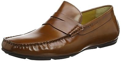 Steptronics Dylan - Mocasines Hombre, Marrón (Tan), 43 EU: Amazon.es: Zapatos y complementos