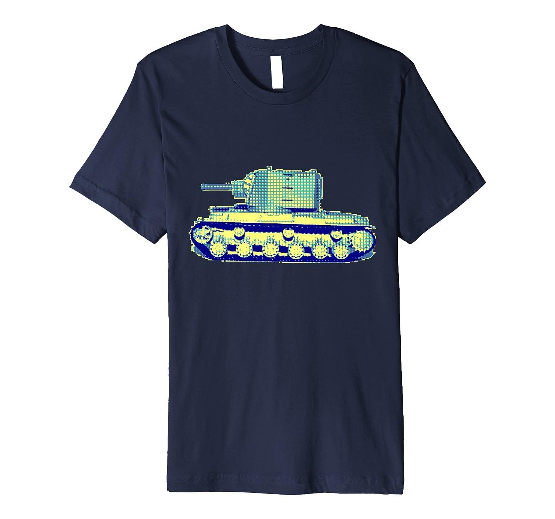 8-Bit Gamer KV-2 Tank-PL