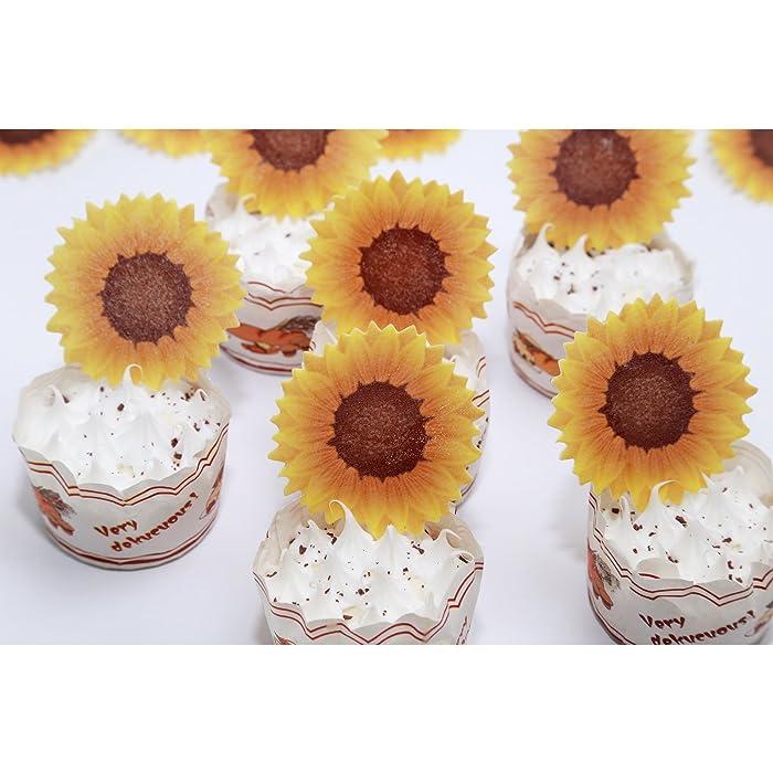 Top 9 Sunflower Cake Decor