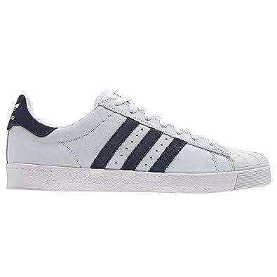Originaux Adidas Superstar Vulc Adv, Ftwr Blanc Ftwr Marine Blanc-collégiale, 10,5