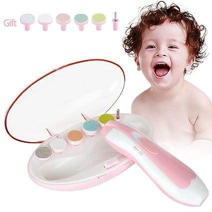 Cortauñas para Bebés, Yevita Lima de uñas Eléctrico Impermeable y ...