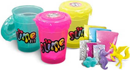 SO SLIME DIY SLIME SHAKER ASSORTED NEON COLOURS