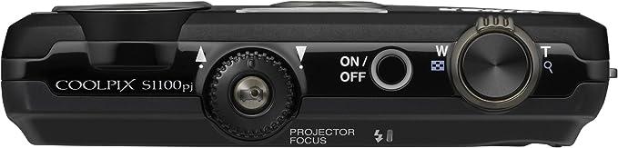 Nikon Coolpix S1100pj Digitalkamera 3 Zoll Schwarz Kamera