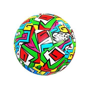 Fútbol innovaciones Calle balón de fútbol, Multicolor, Talla 5 ...