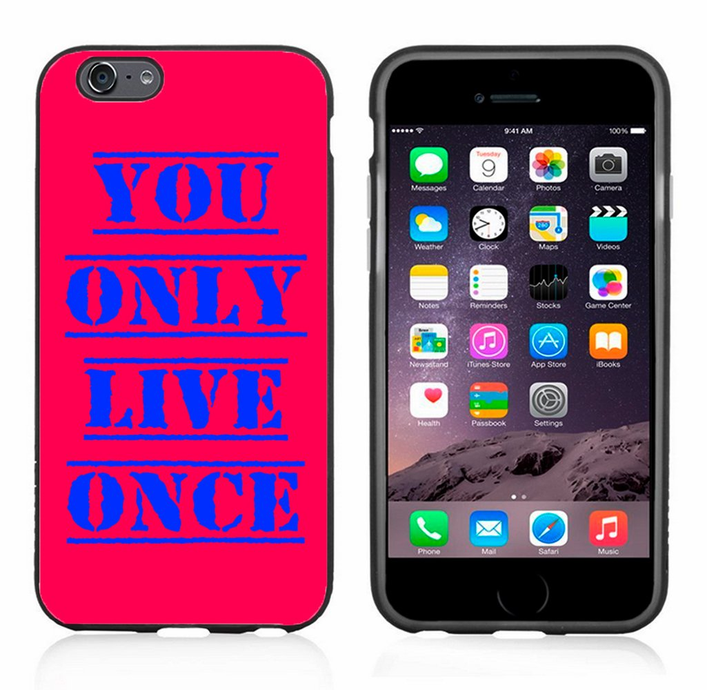 Amazon com: YOLO You Only Live Once Case/Cover For Iphone 6