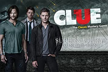 Clue: Supernatural Collectors Edition: USAopoly: Amazon.es: Juguetes y juegos