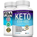 Keto Pills Ketosis Diet BHB Salt - Natural Ketosis Using Ketone & Ketogenic Diet, Support Energy & Focus with Exogenous Keton