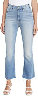 product image for MOTHER Women's The Hustler Ankle Fray Jeans