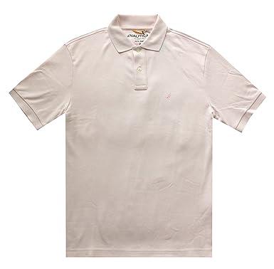 Nautica de los Hombres Classic Fit Solid Interlock Polo Camiseta ...