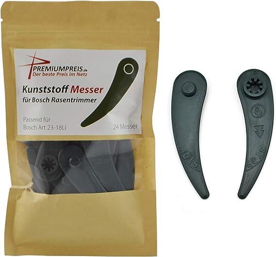 Kunststoff Klingen Für Bosch ART 26-18 23-18 Rasentrimmer Strimmer Zubehör