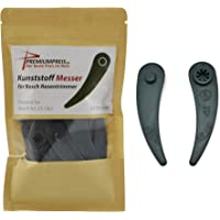 24 reservemessen plastic messen messen voor Bosch Durablade Trimmer Art 23-18 LI Art 26-18 LI PremiumPrei®