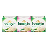 Boursin Garlic Herb and Shallot Chive Cheese (5.2 oz. each, 3 pk.)