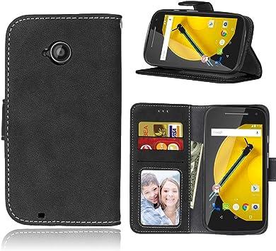 Motorola Moto E (2nd Gen) / Moto E2 Funda, SATURCASE Retro Frosted ...