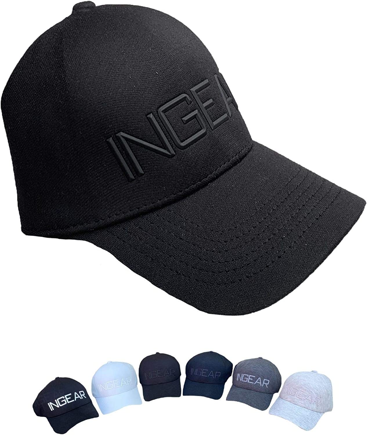 INGEAR Adjustable Breathable Baseball Cap - UPF 50+ for Men and Women