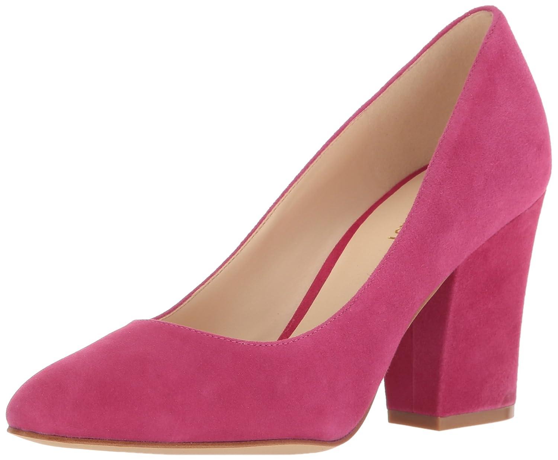 Nine West Women's Scheila Suede Dress Pump B01MQJNDVL 8 B(M) US|Pink