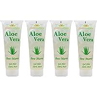 1000 ml ren outtunnad aloe vera gel 100 procent kallpressad från ekologisk odlingskanarer, utan tillsatser utan parfym…