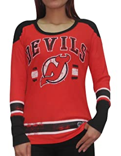 2dc4d9127 ... Premier Away Womens Hockey Jersey New Jersey Devils NHL Womens Ribbed  Long Sleeve Shirt (Vintage Look) Mens Calgary Flames Reebok ...