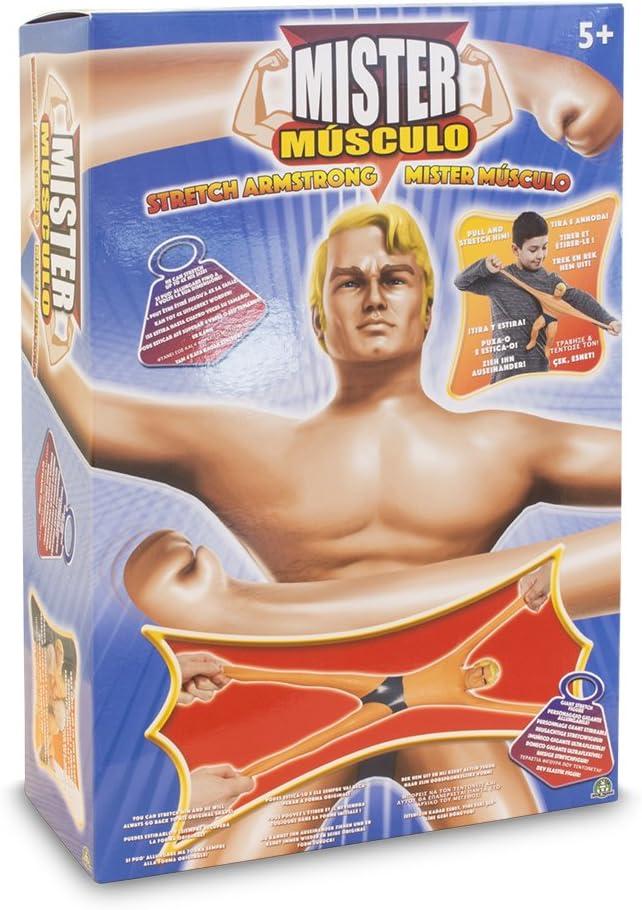 Mister Musculo - Muñeco Stretch Armstrong Estirable (Giochi Preziosi TRE00000)
