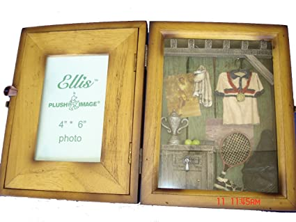 Amazon.com - Tennis Shadow Box Picture Photo Frame - Great Gift for ...