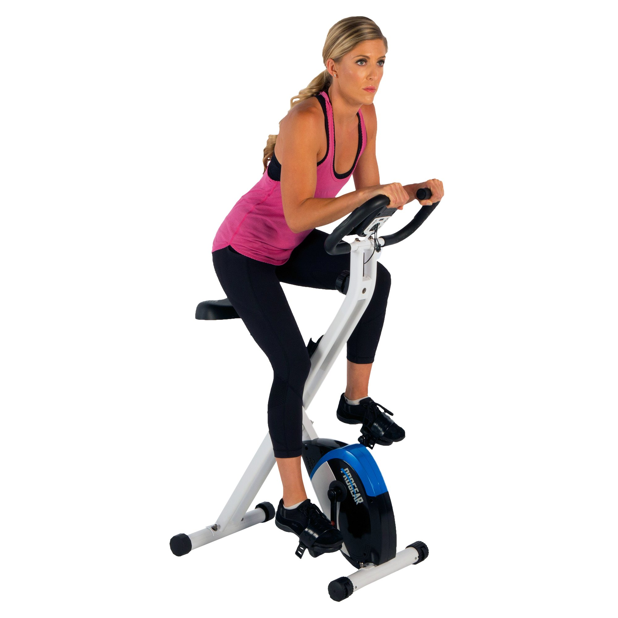 ProGear 225 Folding Magnetic Upright Exercise Bike with Heart Pulse by ProGear (Image #10)