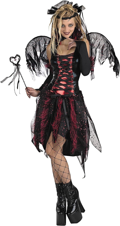 "Plus Size Black 16/"" Dark Fairy//Witch//Tutu Halloween"
