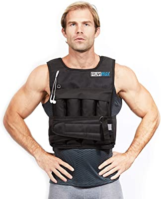 front facing runmax pro weighted vest