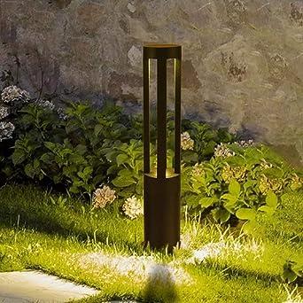 Aaedrag Columna 7W LED al aire libre de la lámpara creativa moderna Villa Corredor exteriores Patio