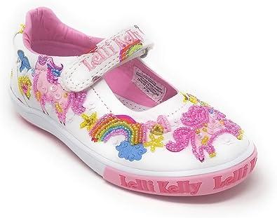 White Fantasy Unicorn Dolly Shoes
